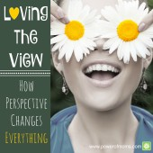 Looking at challenges with a different perspective can make all the difference in your mothering. www.poweroffamilies.com